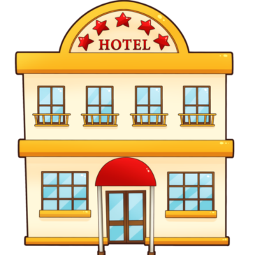 585 -Country Hotel, separate living quarters